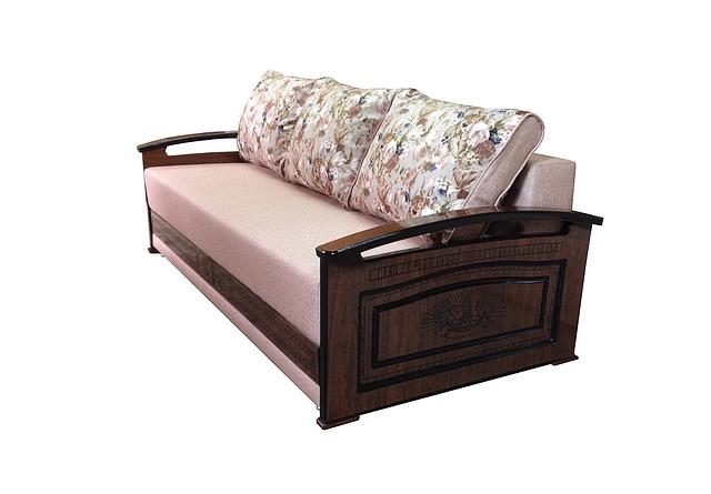 dřevěná sedačka