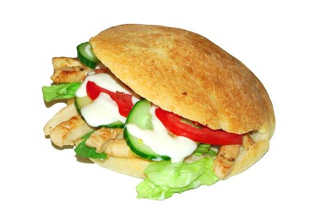 čerstvý sendvič