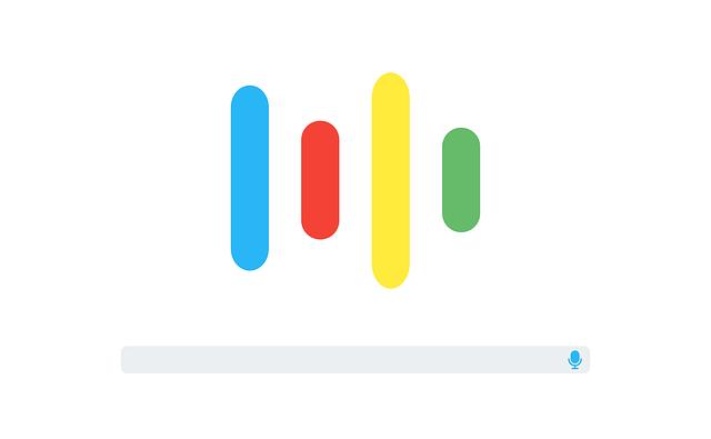 hlasové vyhledávání Google uživatelské rozhraní